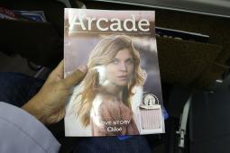 Arcade,Majalah in-flight Shopping